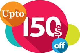 Up To 150$ Off!